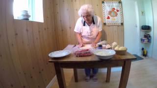 Ansom Edna - How to make a Proper Cornish Pasty