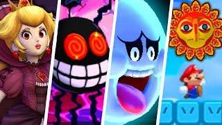 Evolution of Scariest Enemies in 2D Super Mario Games (1988 - 2019)