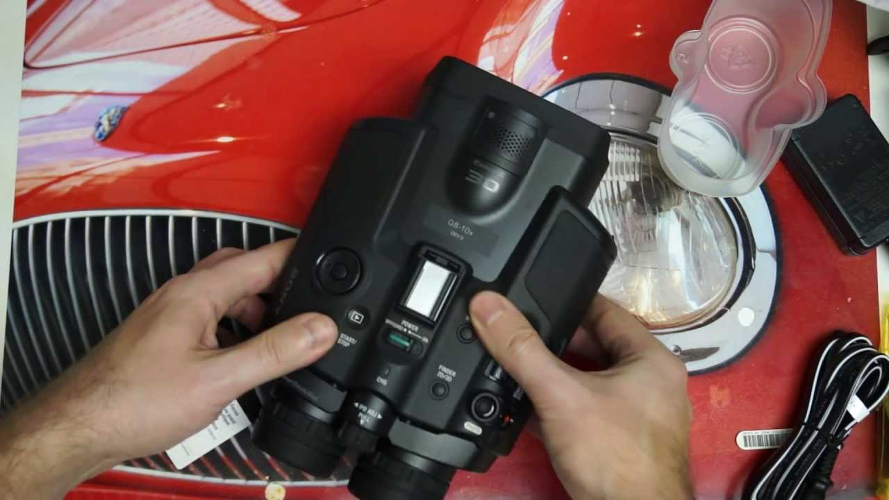 Sony Recording Binoculars Sony Dev-3 Digital Recording