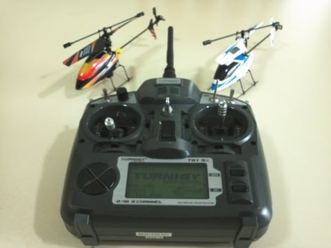 How to Bind the V911 Micro Helicopter with the Turnigy 9X Transmitter - Step by Step guide