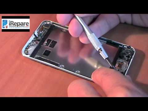 remaplacement vitre ipod touch 4