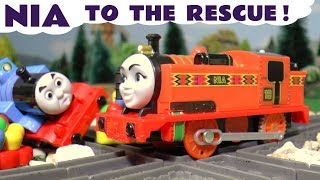 Thomas and Friends NIA to the rescue - Big World Big Adventures Thomas Prank Story TT4U