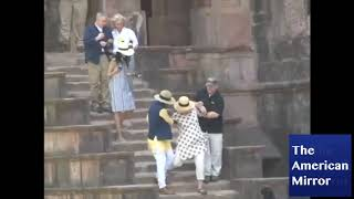 "Hillary Clinton In India-- ""Rollin & Tumblin"", An Old American Blues Song"