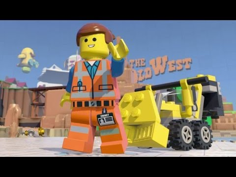 LEGO Dimensions - Emmet Open World Free Roam (Character Showcase)