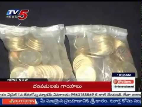 Lakhs Worth Gold Recovered from Smart Thieves - Warangal : TV5 News