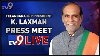 Telangana BJP President K Laxman Press Meet LIVE