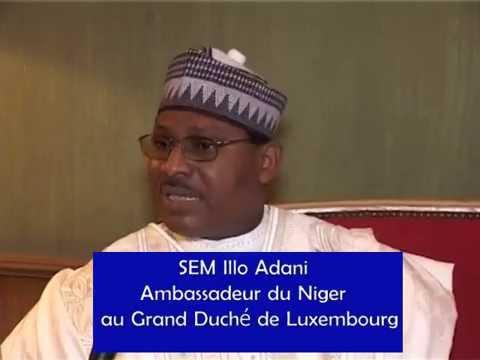 Presentation De Lettre De Créance De Sont Excellense Illo Adani