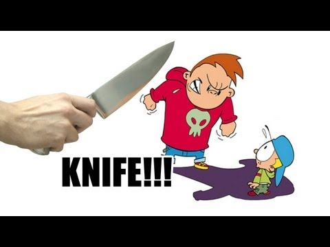 Hey Bully...KNIFE!!! - DANEBOEVLOG