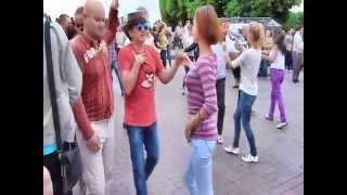 Salsa Open Air Dance St.Petersburg 08.06.2014