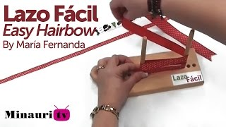 DIY - Lazo Fácil ( Easy hairbow )