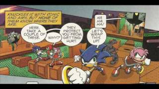 Sonic X Comic Issue 11