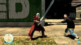 Dante Mod for GTA IV Showcase