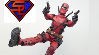 Deadpool Hot Toys Deadpool Movie Masterpiece 1/6 Scale Collectible Figure Review