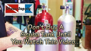 What's the best Scuba Tank to buy ** Scuba Tank Basics