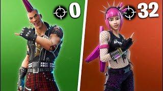 0 KILL WINNER vs 32 KILL WINNER in Fortnite