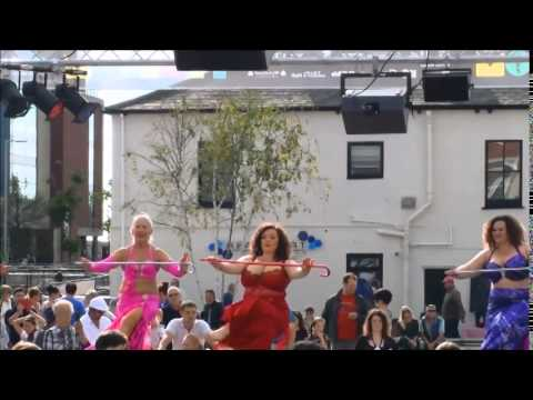 Sandra and Heneya Dance Troupe performing at Freedom Festival Hull September 7th 2014