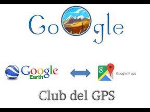 GRABAR RUTA CON GOOGLE EARTH. CLUB DEL GPS