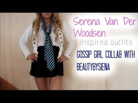 Serena Van Der Woodsen Inspired Outfit | GG Collab with BeautybySiena
