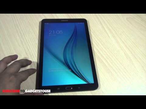 Samsung Galaxy Tab E India Unboxing and Quick Review