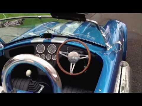 AC COBRA BLUE 427 SHELBY DRB DAX LE MANS