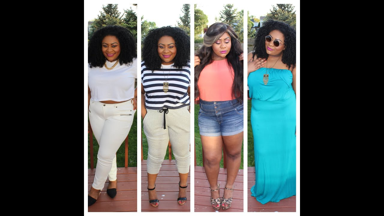 Plus Size Fashion Lookbook PLUS SIZE SPRING LOOKBOOK