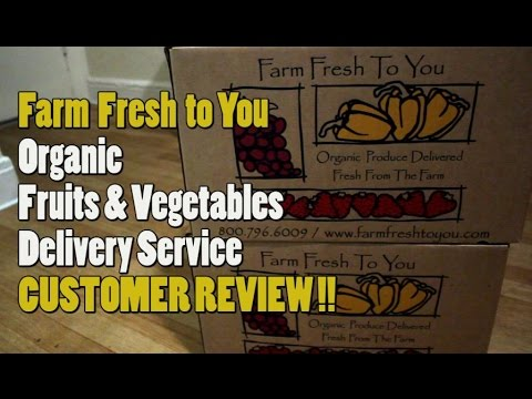Farm Fresh To You Organic Fruits Vegetables Delivery | Customer Review | Selena Thinking Out Loud