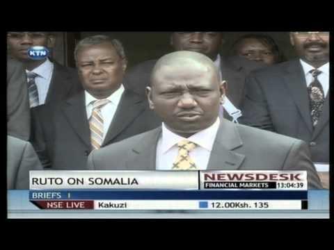 Deputy President William Ruto seeks solution to Somali refugees living in Kenya