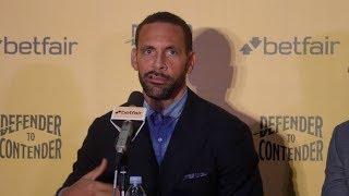 EX MAN UTD & ENGLAND FOOTBALLER RIO FERDINAND BECOMES A PROFESSIONAL BOXER - {FULL PRESS CONFERENCE}