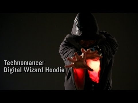 Technomancer Digital Wizard Hoodie from ThinkGeek