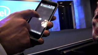 LG GW990 Moorestown Smartphone : CES 2010
