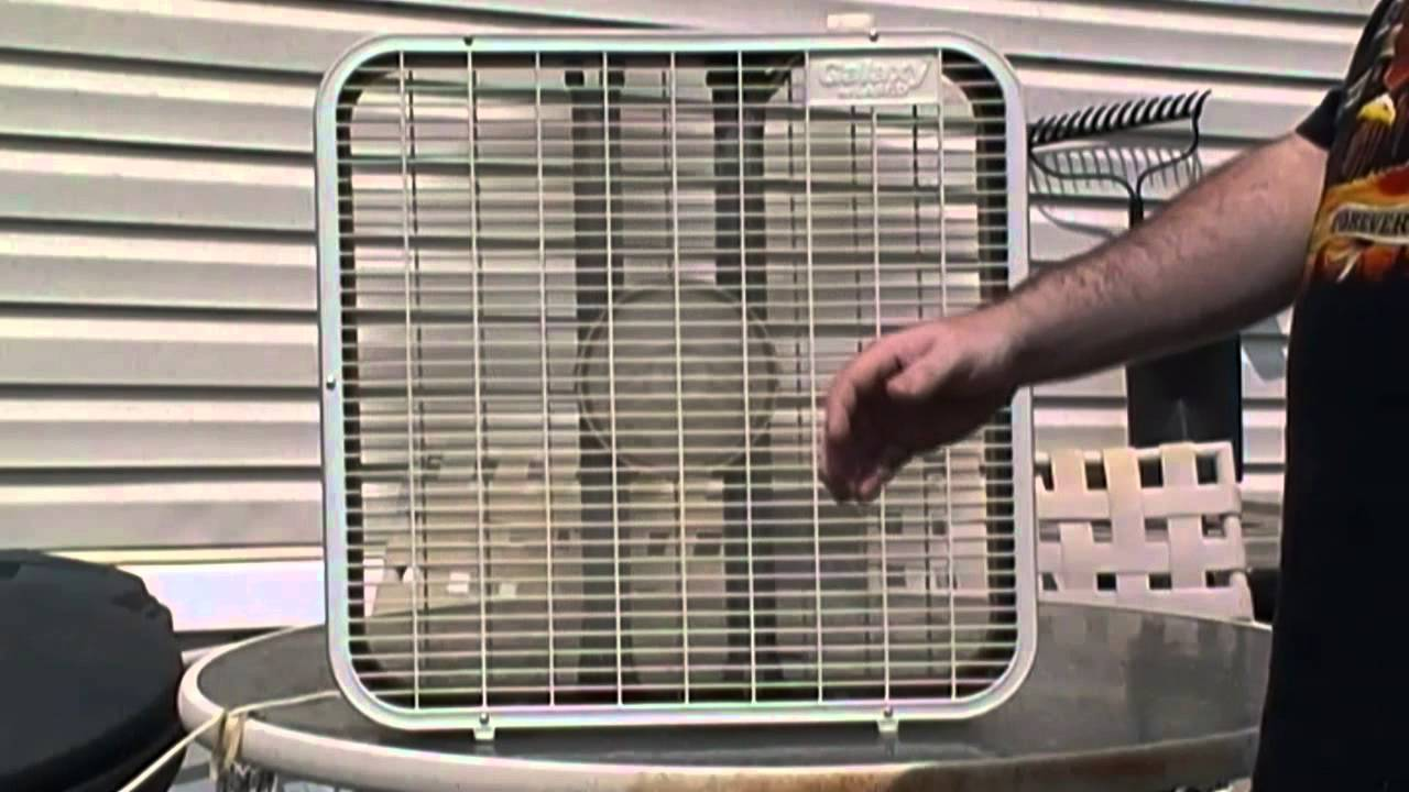 Lasko Galaxy Fan : Galaxy by lasko box fan youtube