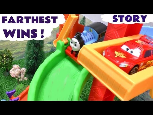 Peppa Pig Play Doh Race Story Thomas & Friends Disney Cars Mickey Mouse Hello Kitty Playdough