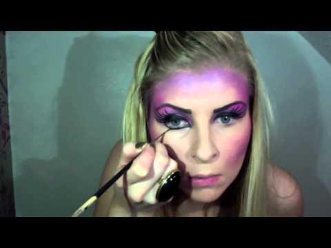 Dark Fairy Makeup Costume/
