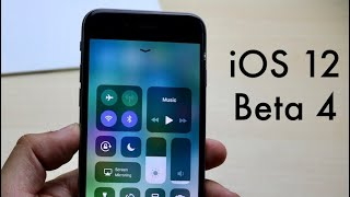 iOS 12 BETA 4 Vs iPHONE 6! (Review)