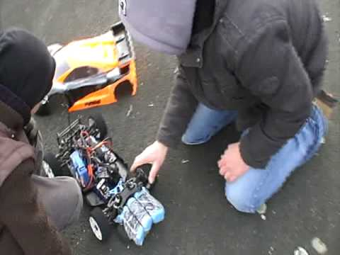 Kyosho Inferno GT Brushless Top Speed 143 km/h !!! Teil 1