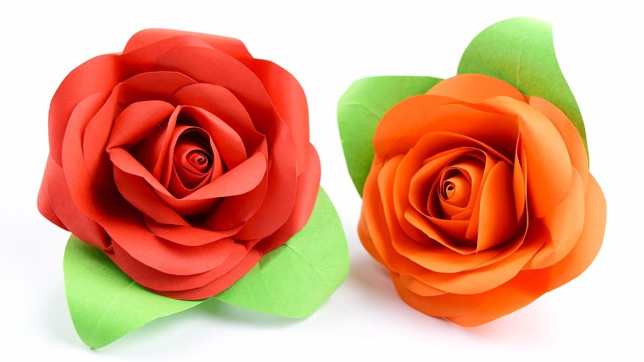 Пышная роза своими руками 134