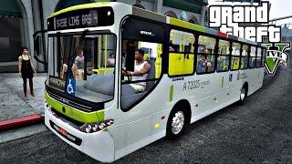 GTA 5: Mod Bus - Ônibus Apache VIP Urbano Linha 232 (Rio de Janeiro)