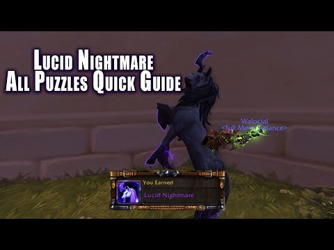 [World of Warcraft] Lucid Nightmare - Newly Discovered Mount!