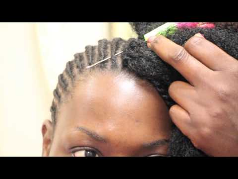 How to Crochet Havana Twist on relaxed short hair