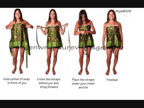 Ways to Wear your Enwrapture Vintage Indain Wrap Skirt Video