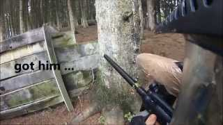 Woodland Paintball Austria - One Nice Paintball Day In Five Minutes