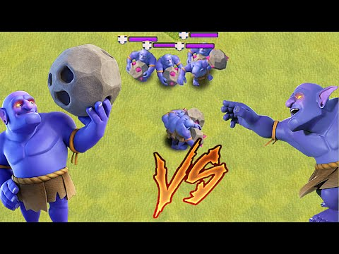 Clash Of Clans - BOWLER ON DEFENSE!! (New update)