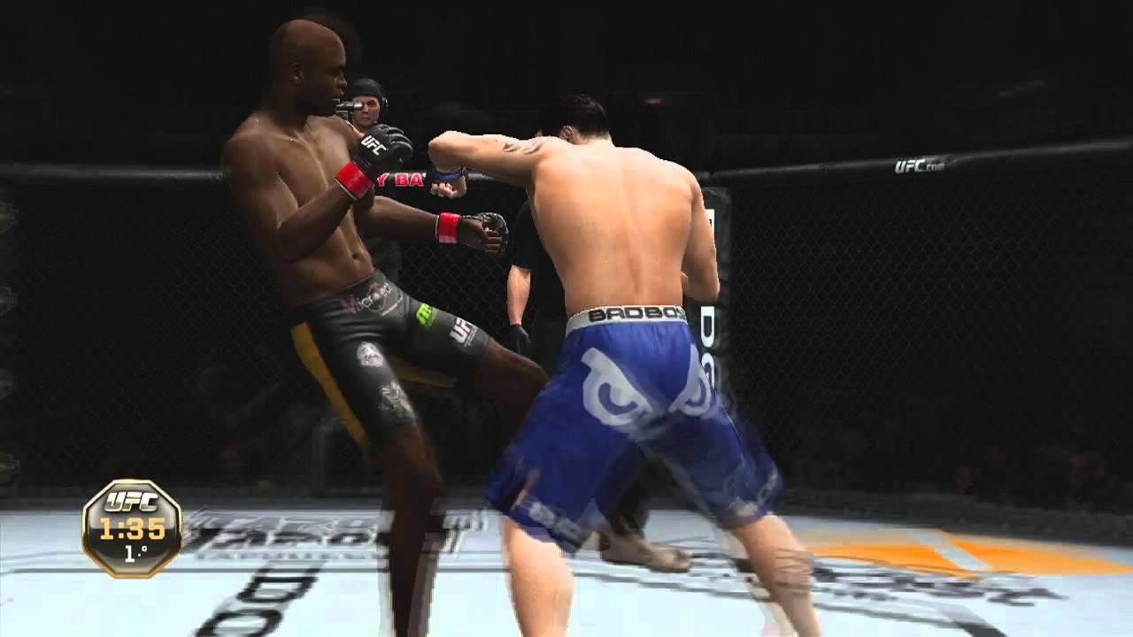 Ufc Undisputed 4 UFC Undisputed 3  Anderson