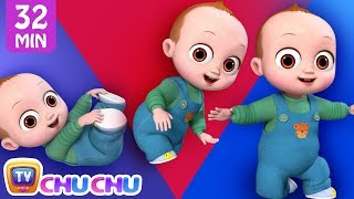 Baby's First Steps Song + More ChuChu TV Baby Nursery Rhymes & Kids Songs