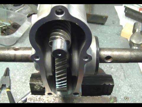 How a Snowblower Auger Gear Box Works
