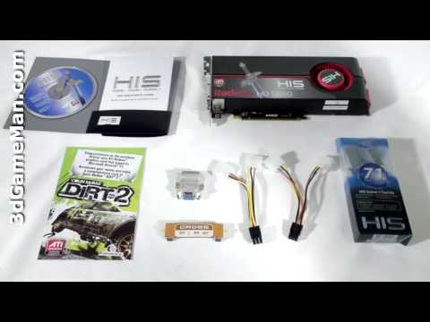 #1099 - HIS HD 5850 1GB GDDR5 Video Card Video Review