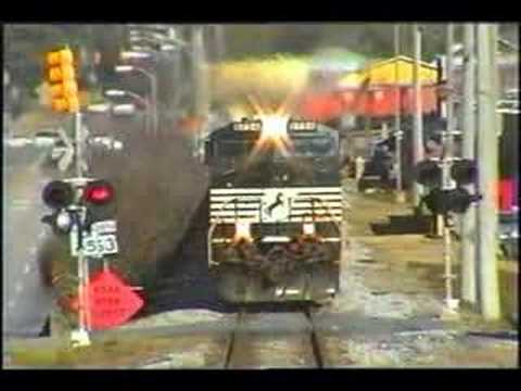 NS 918 Rock Train In Alabama