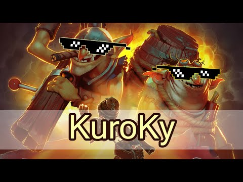 Kuroky best Techies game on pro scene — Secret vs Fnatic