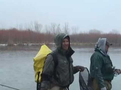 Fly Fishing The San Juan River in the winter