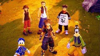 KINGDOM HEARTS 3 - 79 Minutes of Gameplay So Far (PS4 XBOX ONE) Kingdom Hearts III Gameplay Trailers